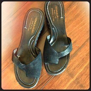 Donald J Pliner Wedge Sandals